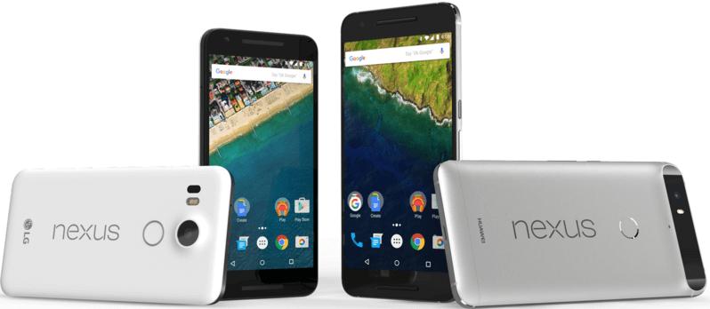 Nexus 5X vs 6P