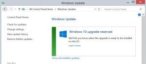 Windows 10 Download Option Under Windows Update