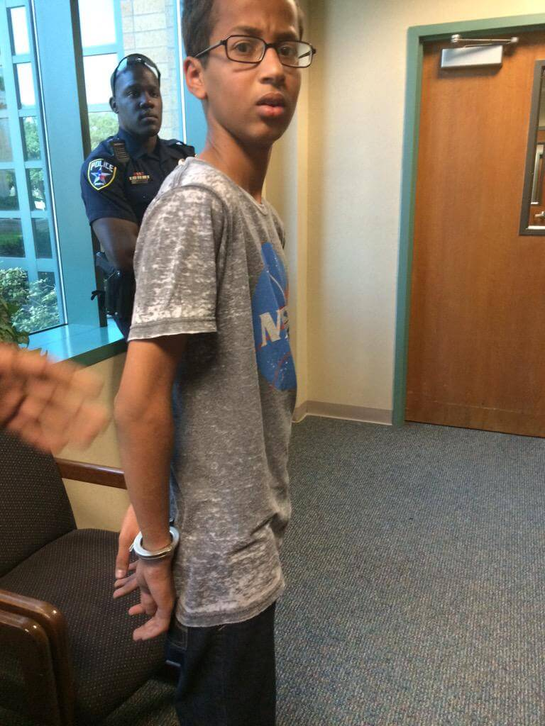Ahmed Arrested For Building Clock