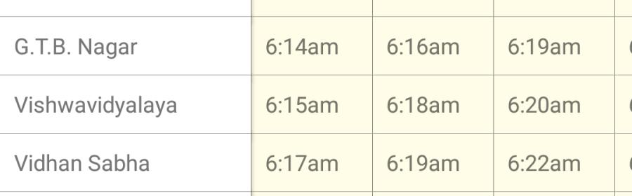 Delhi Public Transport Offline