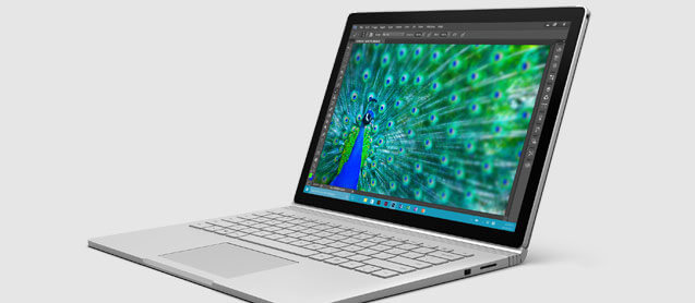 Surface Book Full Laptop Mode